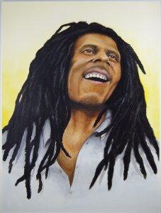 Bob Marley by Raymond Seybert